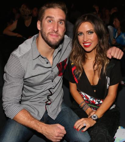Shawn Booth and Kaitlyn Bristowe: Front Row at Desigual Fashion Show