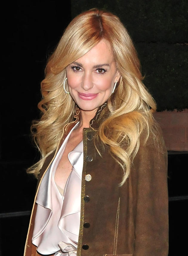 Taylor Armstrong on the Street
