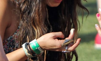 Vanessa Hudgens Pics: Doing Drugs at Coachella?