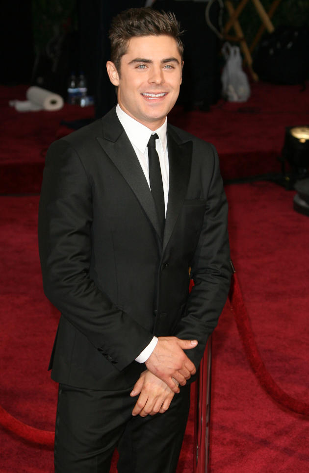 Zac Efron at the Oscars