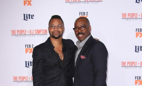 Cuba Gooding Jr. & Courtney B. Vance: 'The People V. O.J. Simpson' Premiere