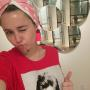 Miley Cyrus Gives Thumbs Up
