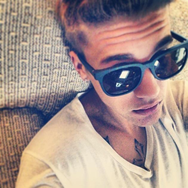Justin Bieber Sad Selfie