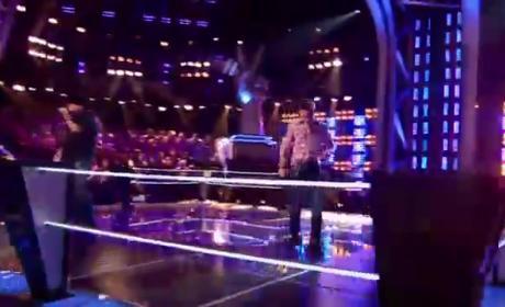 Michael Austin vs. Warren Stone - The Voice Battle Round