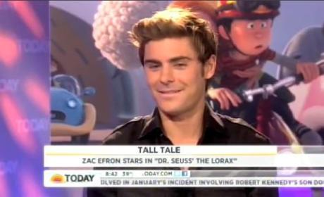 Zac Efron on Red Carpet Condom Drop: My Bad!