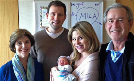 Jenna Bush Hager Introduces Baby Mila: First Photos!