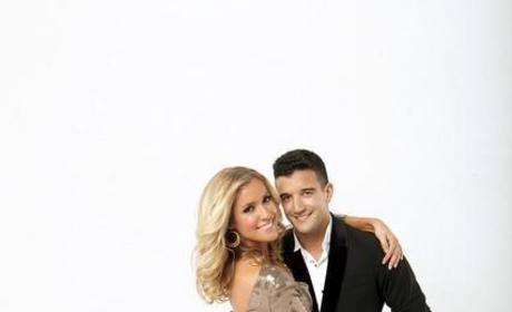 Kristin Cavallari and Mark Ballas
