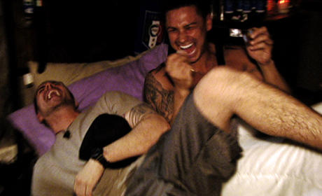 Pauly and Vinny Bromance