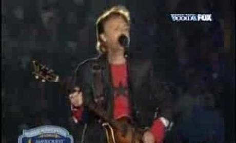 Paul McCartney Halftime Performance