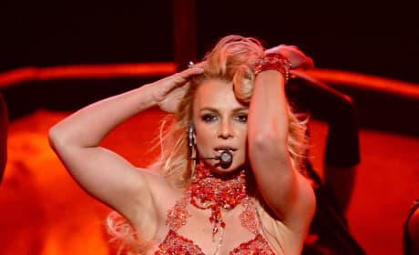 Britney Spears Puts Her Hands Through Her Hair: 2016 Billboard Music Awards