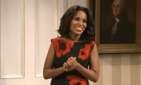 Kerry Washington on SNL: How'd She Do?
