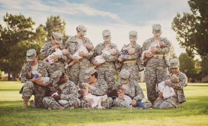 Military Moms Breastfeed Online, Stir Controversy