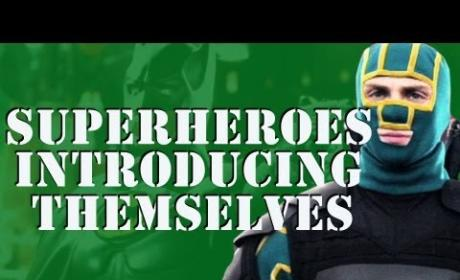 Superheroes Introducing Themselves Mashup