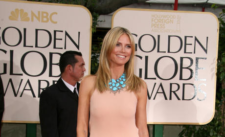 Heidi Klum Golden Globes