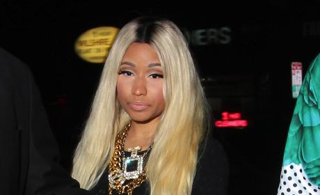 Nicki Minaj Heads Out