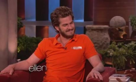 Andrew Garfield Belly Dances on Ellen [Video]