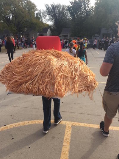 Donald Trump Hair Costume