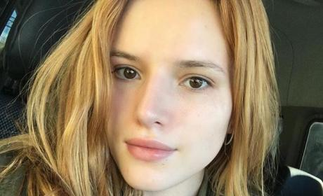 Bella Thorne Posts Makeup-Free Selfie, Reveals Struggle With Acne