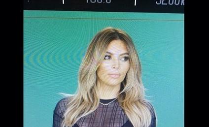 Kim Kardashian Flaunts Cleavage, Tiny Waist in New Instagram Photo