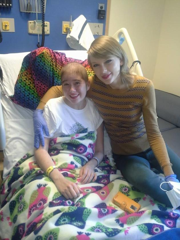 Taylor Swift at the Hospital