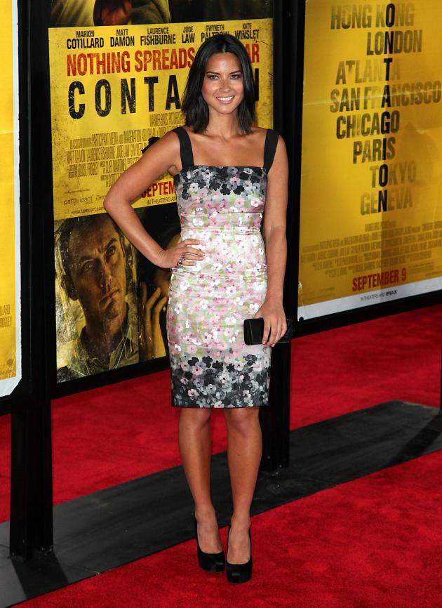 Olivia Munn Premiere Photo