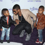 Usher and Kids