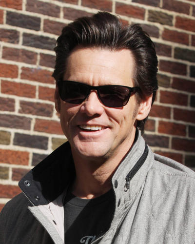 Jim Carrey in NYC