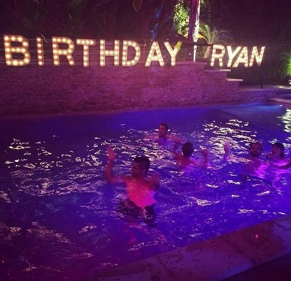 Ryan Sweeting's Birthday Party