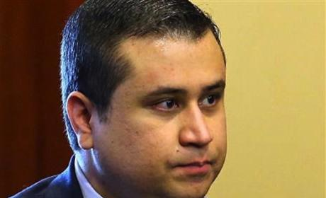 George Zimmerman in Courtroom