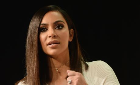 Kim Kardashian for BlogHer