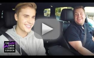 Justin Bieber Sings Carpool Karaoke with James Corden