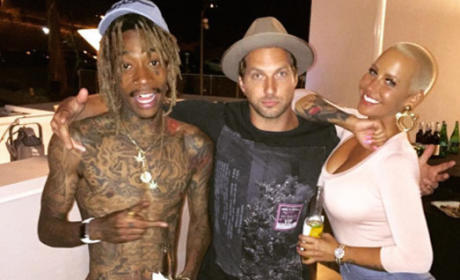 Amber, Wiz and Ryan Hansen