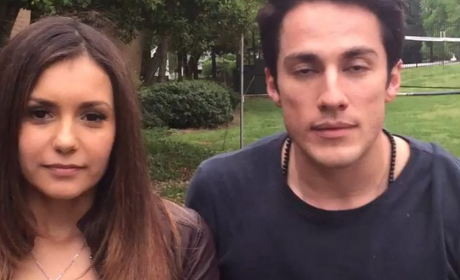 Nina Dobrev and Michael Trevino