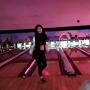 Kylie Jenner bowling