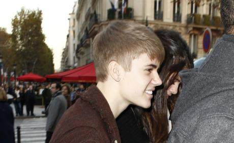 Bieber in Paris