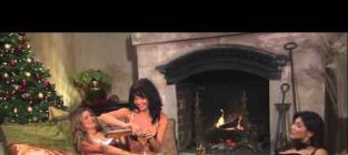 Elise Mosca in Yule Log Hotties