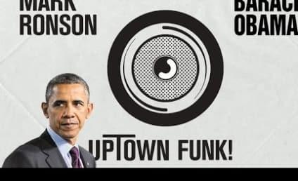 "Barack Obama Sings ""Uptown Funk,"" Makes Bruno Mars and Mark Ronson Proud"