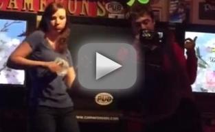 Daniel Radcliffe, Girlfriend Sing Karaoke to Eminem