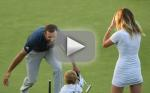 Paulina Gretzky Nearly Flashes Camera At US Open