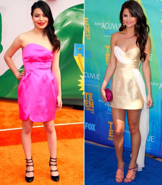 Selena and Miranda