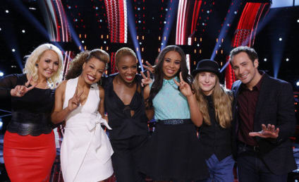 The Voice Results: Which Five Are Still Alive?