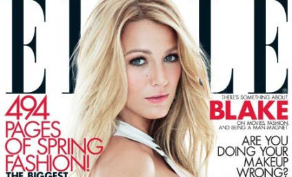 Blake Lively Covers Elle, Doesn't Sleep Around
