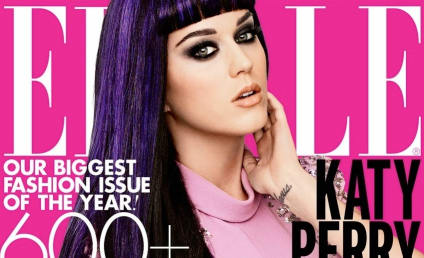 Katy Perry Elle Cover: Pretty in Pink (and Purple)