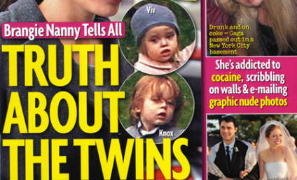 Tabloid Brazenly Claims: Angelina Jolie's Twins Have Down Syndrome!