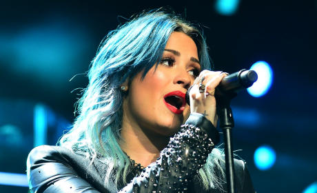 Demi Lovato at Jingle Ball