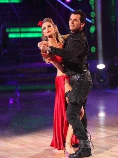 Chynna Phillips and Tony Dovolani Pic