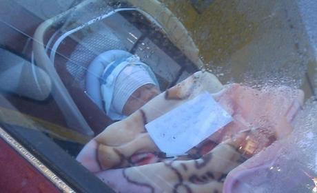 Infant Left Alone in Car With Note, Photo Goes Viral