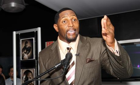 "Ray Lewis Forgives Anna Burns Welker for ""Silly"" Murder Rant"