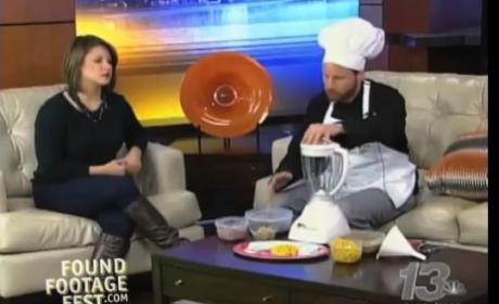 Fake Chef Pranks TV Morning Shows, Convinces Anchors to Eat Gross Stuff