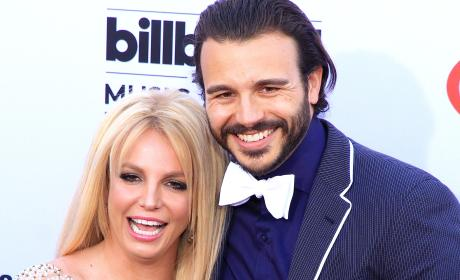 Charlie Ebersol and Britney Spears Red Carpet Photo